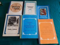 Lot 6 manuale limba și literatura română/ 1976-1981