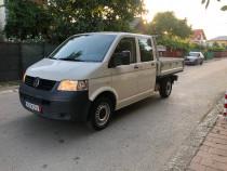 VW transporter T5 Doka. 2009, 6 locuri + lada, 1.9 TDI