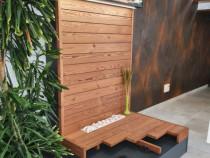 Pardoseala din lemn, terasa, deck, lambrui, lemn termotratat