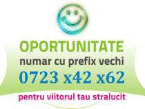 Numar Prefix Vechi - 0723.x42.x62 usor AUR Gold VIP Platina