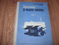 Tractoare si masini agricole ( rara, cartonata, cu figuri )*
