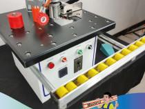 Masina aplicat cant cu dubla adezivare si taiere din rola
