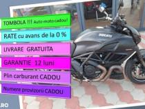Ducati diavel / rate fixe /garantie 12 luni /livrare gratuit