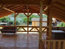 Inchiriere locatie exterior pentru evenimente zona de lounge