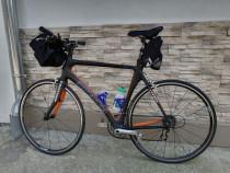 Bicicleta cursiera carbon ronanda, full carbon