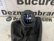 Nuca schimbator piele M originala BMW E81,E87,E90,E91,E92,X1