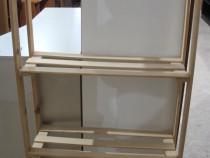Etajera din lemn tip Ikea; Raft; Dulap cu polite