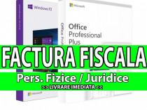 Licente - pachet promo: windows 10 pro + office 2019 pro