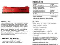 Memorie Ram GAMES PC Kingston HX316C9SR/8 RED Fury Refurbish