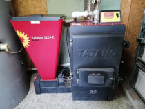 Cazan pe biomasa (peleti), Tatano, policombustibile, 46 kW