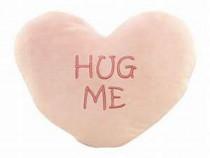 """Pernă în formă de inimă """"HUG ME"""""""