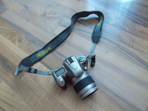 Aparat foto pe film nikon F55 cu obiectiv 28-80 mm ,function