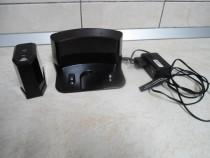 Stație de încărcare si perete virtual pentru aspiratoare rob
