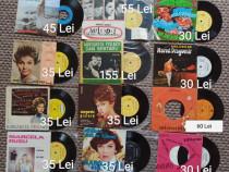 Discuri de vinil anii 50-70 diverse genuri și artiști români