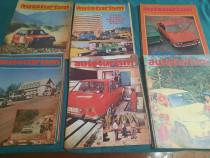 Lot 55 reviste autoturism/ diferite numere/ anii 1978-1988