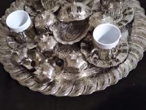 Set mic dejun argintat