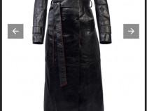 Palton Manokhi din piele