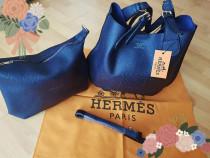 Geantă Hermes 2 in 1 new model,saculet inclus