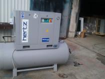 Compresor aer pe surub