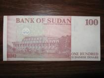 Bancnota de 100 sudanese dinars pentru colectionari