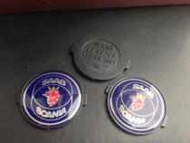 Emblema volan Saab Scania dimensiune 3,5 cm
