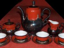 Servicii vintage: cafea Bavaria + ceai Pforzheim, argintate