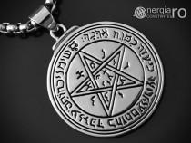 Pandantiv Amuleta Pentagrama Sigiliul Solomon - cod PND026