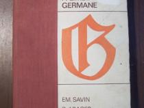Gramatica practica a limbii germane - Em. Savin, B. Abager