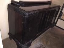 Mobila sufragerie din lemn masiv sculptat