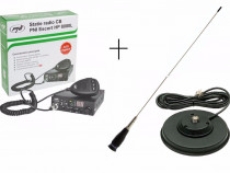 Kit statie radio PNI HP8000L + antena PNI ML145 (calibrare g
