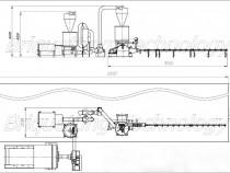 Linie completa brichetare brichete 300-400 kg/ora