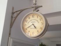 Ceas de perete imitatie ceas gara NOU