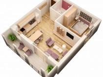 Apartament 2 camere, nou, modern, City Residence, zona Garii