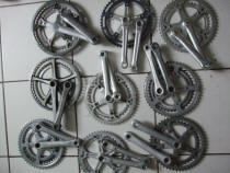 Angrenaj pedalier aluminiu 52/42 dinti