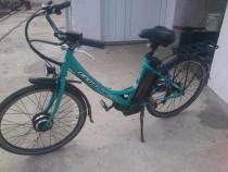 Bicicleta electrica dinotti neapel shimano 24v,220w,25kg