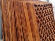 Imprejmuiri din panouri zabrelite lemn rasinoase