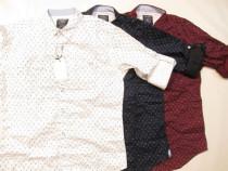 Camasa Barbati Fashion P&B Slim Fit -Casual -New Collection