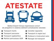 Atestat Transport Marfa COD95 Alba Iulia