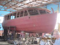 Barci pescuit / agrement / turism - constructie metalica