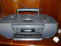 Cd player stereo radiocasetofon dublu recorder RCD-12