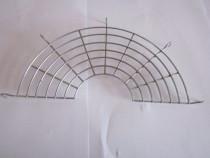 Gratar din inox 28 cm, se poate pune pe marginea tigaii