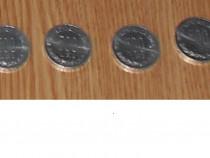 Lot 4 monede 500 lei din 1999