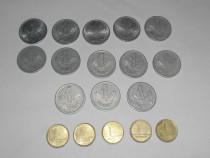 Lot 18 monede 1 forint din anii 1967 - 1998