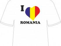 """Tricou personalizat """"Romania..."""""""