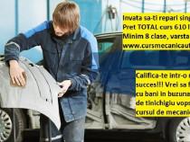 Auto CURS mecanic auto, tinichigiu vopsitor