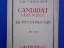 Candidat fara noroc - D. D. Parascanu / R3F