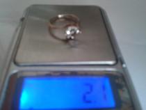 Inel argint marcat 925 stil inel de logodna