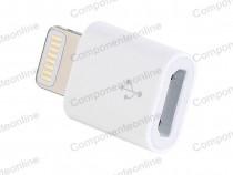 Adaptor mufa iPhone 5 - micro USB, mama - 126501