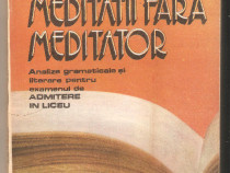 A.D.Burca-Meditatii fara meditator