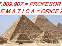 Meditatii matematica 0727809907